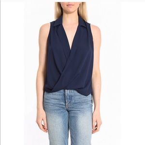 LIKELY MASON COLLARED SLEEVELESS TOP 💙IN STORES💙